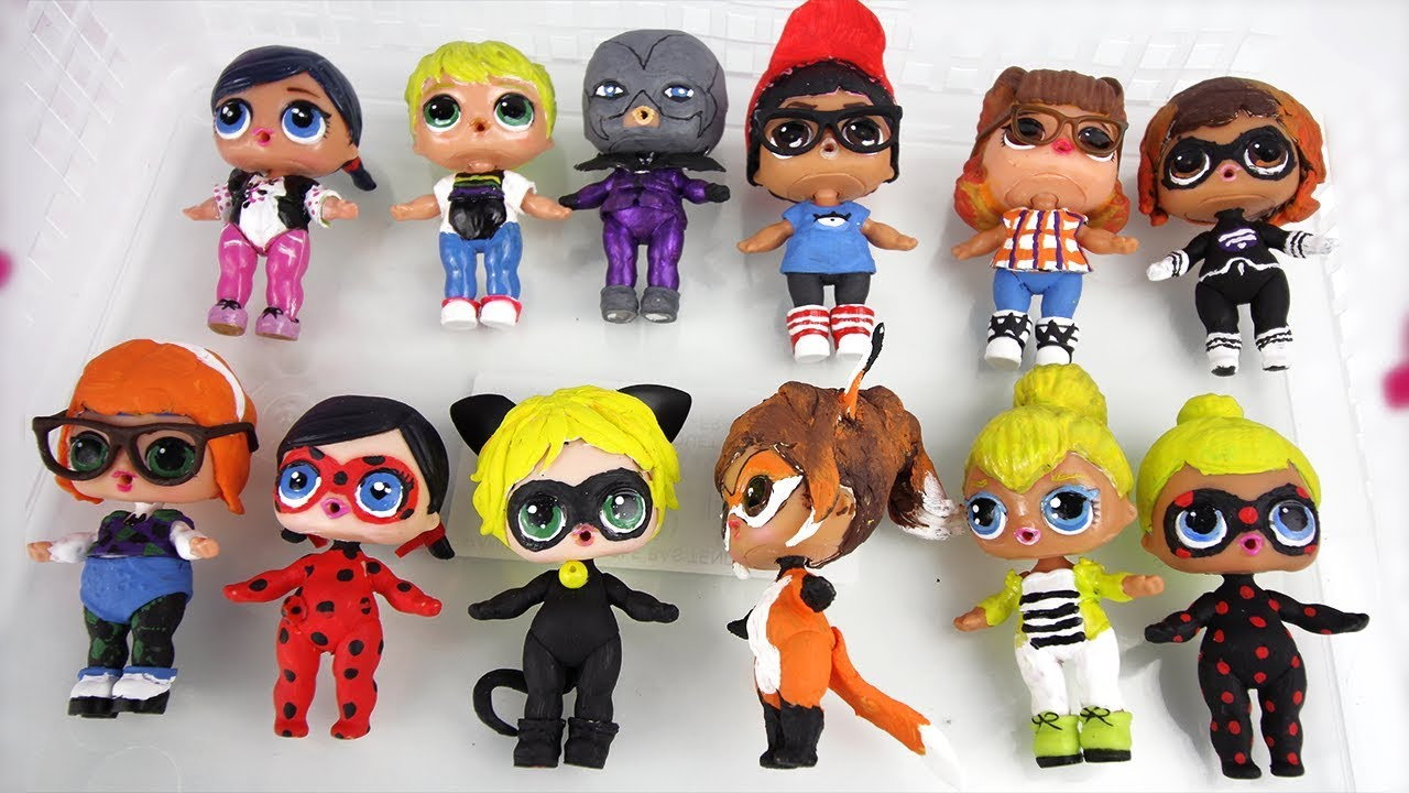 Poupees Lol Surprise Collection Miraculous Ladybug Diy All My