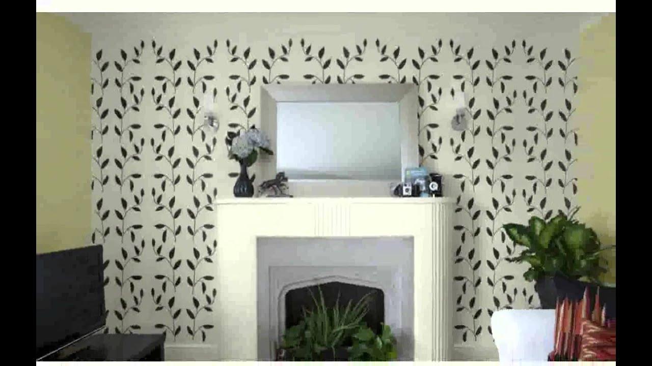 Muster Für Wandbemalung - inspiration - YouTube
