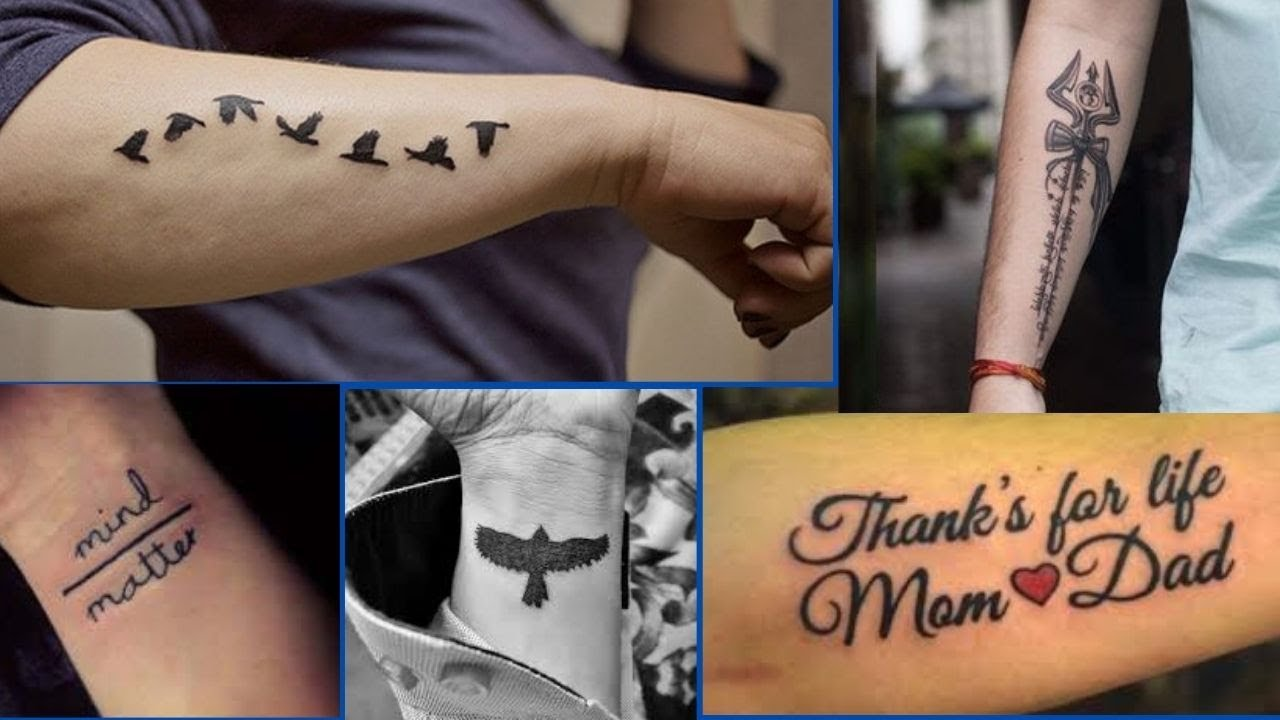 Stylish Forearm Tattoos Designs and Ideas for Men with Meaning  Tattoo  designs for Hands   FW