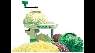 Cabbage Shredder & Slicer, Super Fast Shredding, Slicing, Compact Size