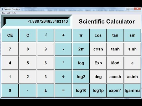 How to Create Scientific Calculator in Python - Part 1 of 3