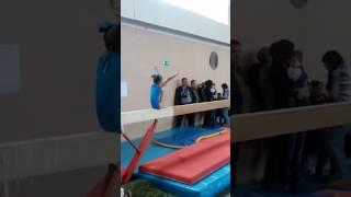 Саша Дьякова, 6 лет, 3-й юношеский разряд, бревно