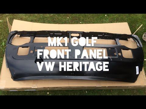 Mk1 Volkswagen Golf GTI Restoration - Unboxing Front Panel VW Heritage - YouTube