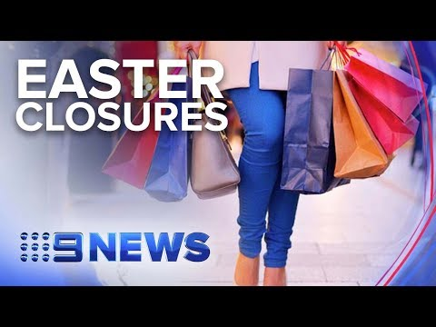 Strict Trading Laws Enforced Over Easter Public Holidays | Nine News Australia