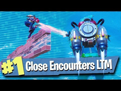 Close Encounters LTM - JETPACK FIGHT AT MAX HEIGHT! - Fortnite Battle Royale