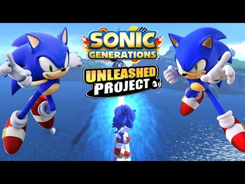 Sonic Generations PC Unleashed Project All Stages [4K 60FPS]