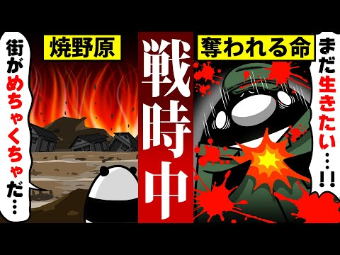 【アニメ】戦時中にタイムスリップするとどうなるのか?