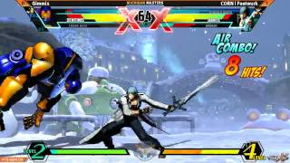 Youmacon 2014 Michigan Masters UMVC3 Top 8 CORN Footwurk vs Gimmix