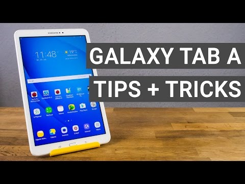 Samsung Galaxy Tab A 10.1 Tips and Tricks