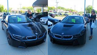 I BOUGHT MY MOM A BMW i8!?