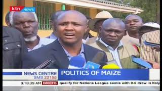 MPs from North rift  accuse William Ruto to be behind the politics of Maize