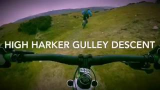 Reeth- Pipeline Descent into High Harker Gully Descent