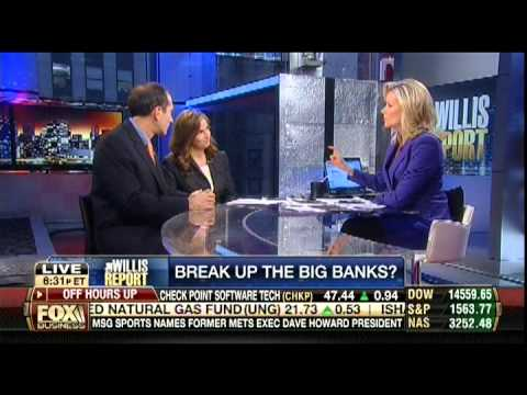Should We Break Up The Big US Banks, Analysis with Securities Attorney Jenice Malecki 3/26/13