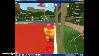 Killerbeeisbestoday plays roblox Dodgeball THIS GAME IS GOOD
