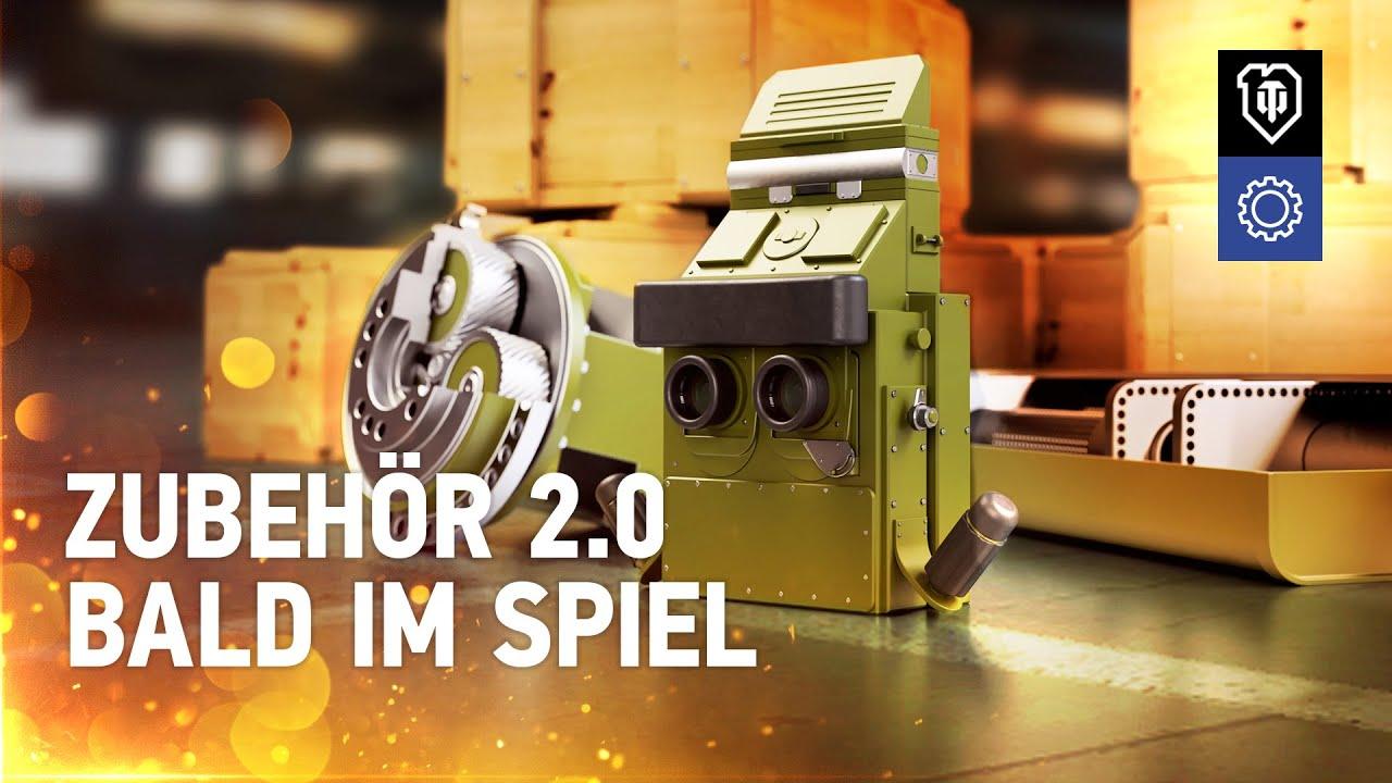 Zubehör 2.0: alle Details [World of Tanks Deutsch]