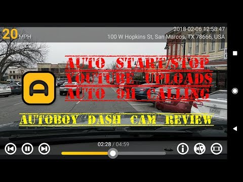 Google Pixel 2 AND the AutoBoy Dash Cam app Review