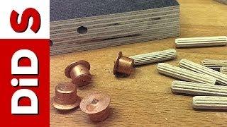 S011. Szybkie i proste połączenie na kołki drewniane (znaczniki do kołków)