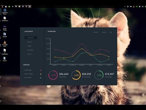 C#, vb.Net PROGRAMMING -  Modern Dark UI Sales Dashboard, Bunifu UI 1.51  現代設計用戶界面