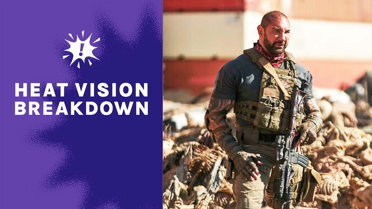The Cast of 'Army of the Dead' Talk About Their Guide to Battling Zombies I Heat Vision Breakdown