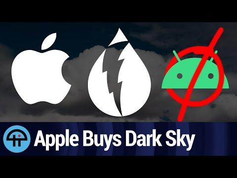 Apple Buys Hyperlocal Weather App Dark Sky