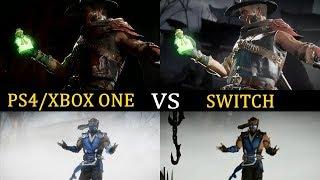 MK11 Switch vs PS4/XBOX ONE (Mortal Kombat 11)
