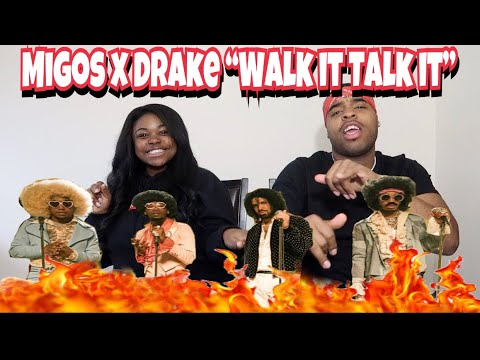 Migos ft Drake - Walk it Talk it ( Music Video) 🔥🔥| REACTION!!!!