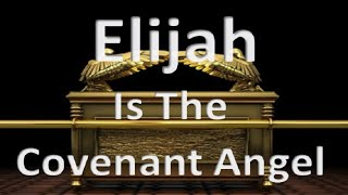 Elijah Is The Angel Of The New Covenant 144000 Sealed Atonement Rapture  9th Av July 28 30 2020