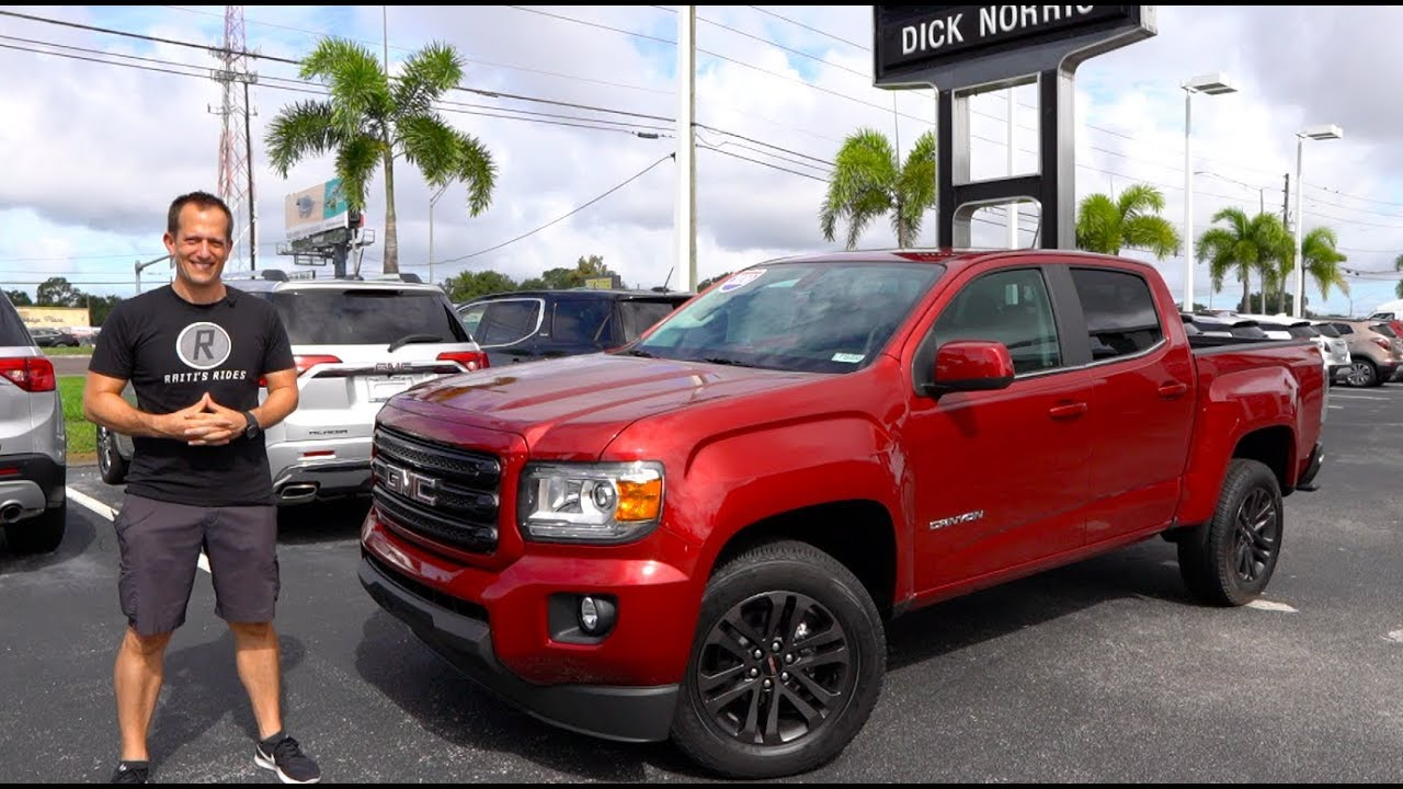 2020 Gmc Canyon Diesel Redesign and Review