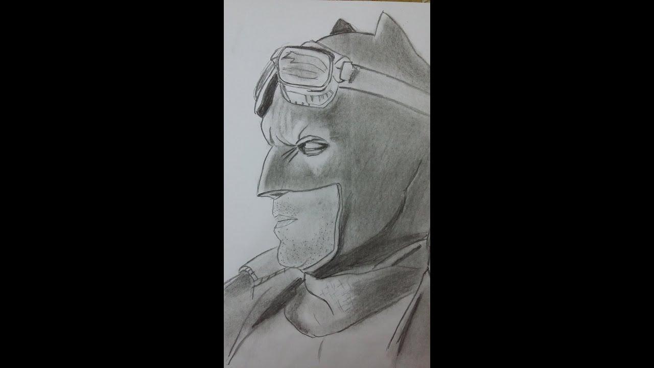 Dibujo de Batman Desierto Batman V Superman Desert Batman  YouTube