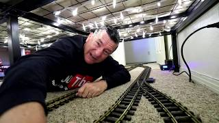 Big Model Trains Running Under The Bed