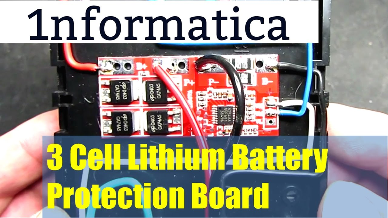 3 Cell Lithium Battery Protection Board From Banggood Electronic Module 18650 Charging Boardin Integrated Circuits