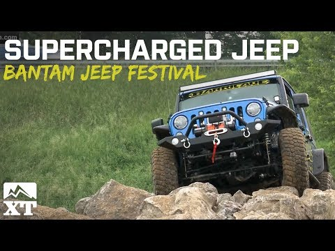 Supercharged Jeep Owns Trails at Bantam Jeep Festival 2015!