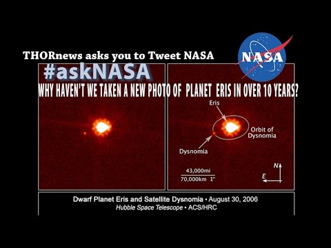 The Original Planet X - Why hasn't NASA taken a new photo of Eris in over 10 years?