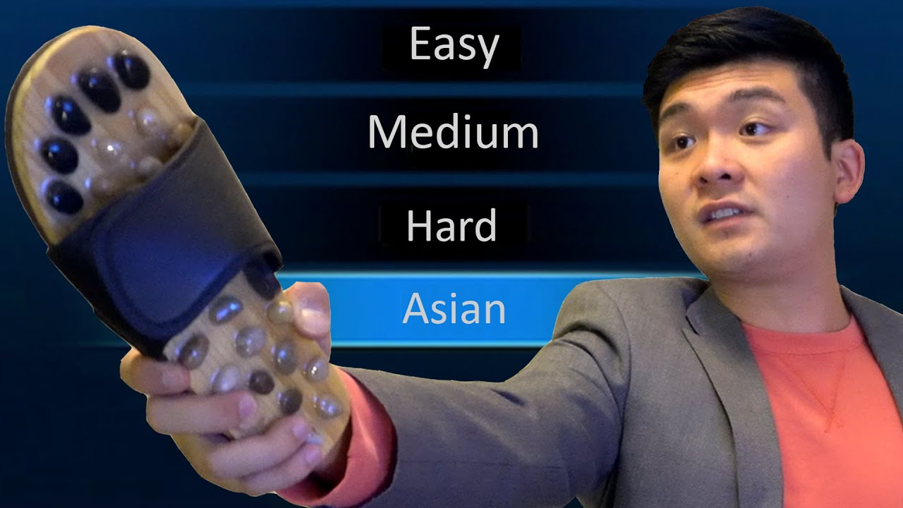 """When """"Asian"""" Is a Difficulty Mode"""
