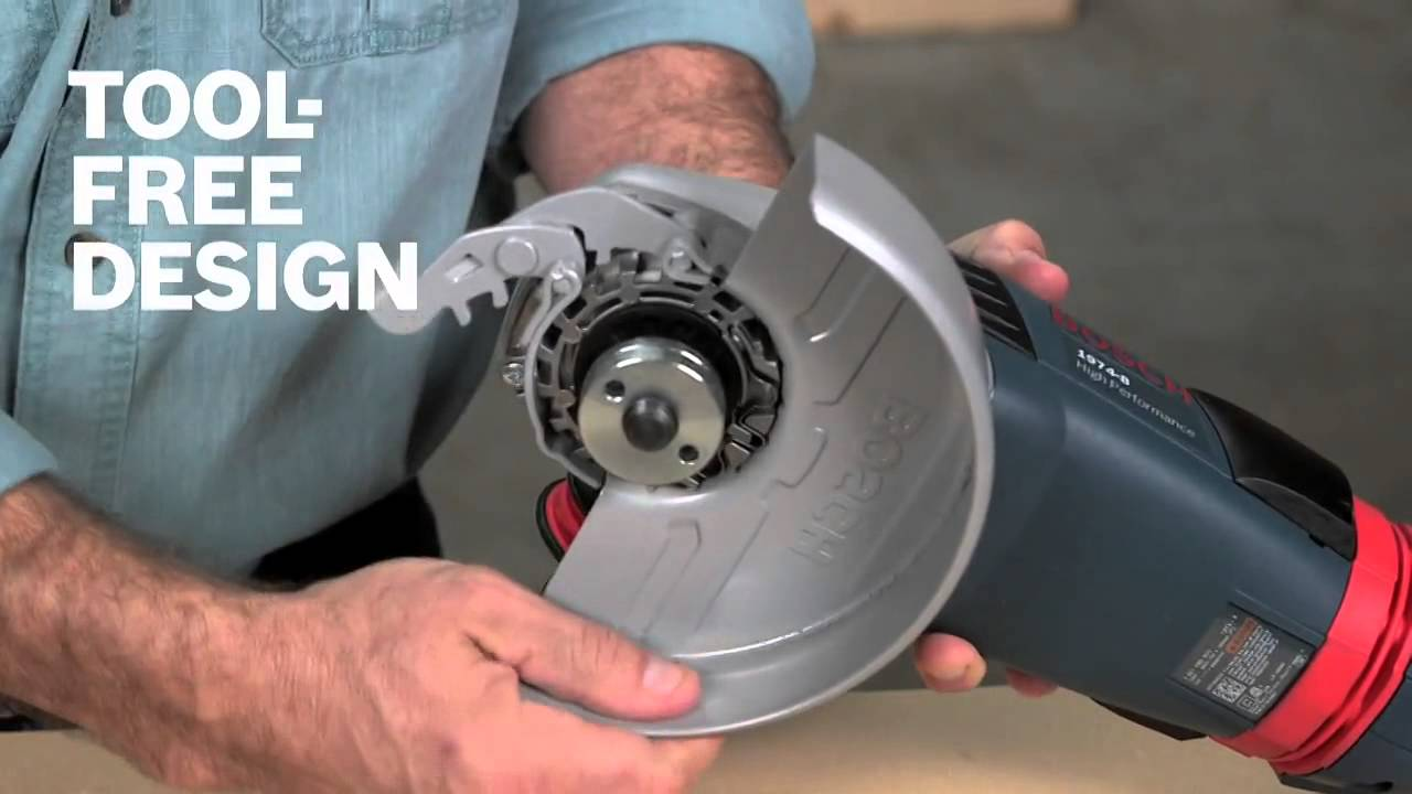 Bosch Power Tools Grinder Wheel Guards Product Video