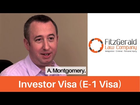 US immigration lawyer client testimonial--Scotland immigrant received E1 visa or Investor visa