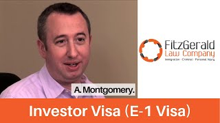 us immigration lawyer client testimonial scotland immigrant received e1 visa or investor visa