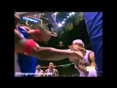Kenyon Martin vs. Corey Maggette fight