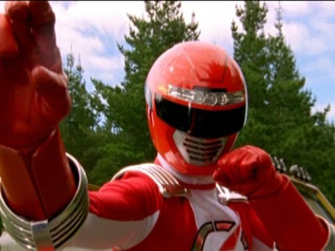 Power Rangers Operation Overdrive - First Morph and Fight