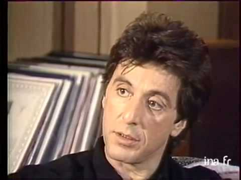 Al Pacino interview 1980s