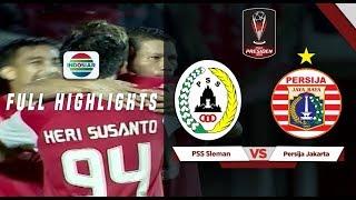 PSS Sleman (0) vs (2) Persija Jakarta - Full Highlights | Piala Presiden 2019