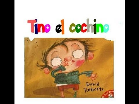 Cuentos cortos para niños Tino el Cochino - YouTube