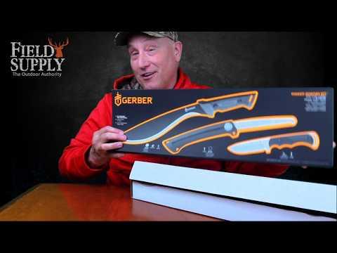 Gerber 3-Knife Set: Pursuit Hunting Kit
