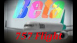 Roblox - BETA Fleet 757 Flight