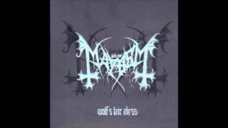Mayhem - Wolf's lair abyss [Full Album]