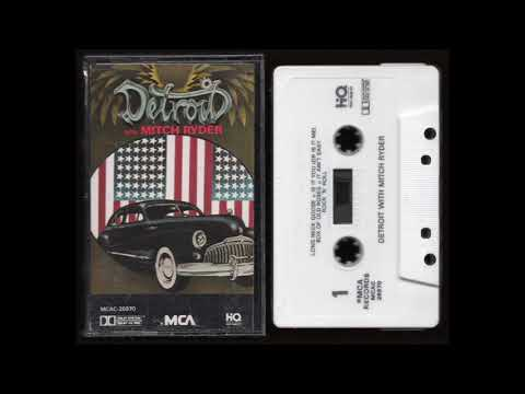 Detroit - With Mitch Ryder - 1987 - Cassette Tape Full Album