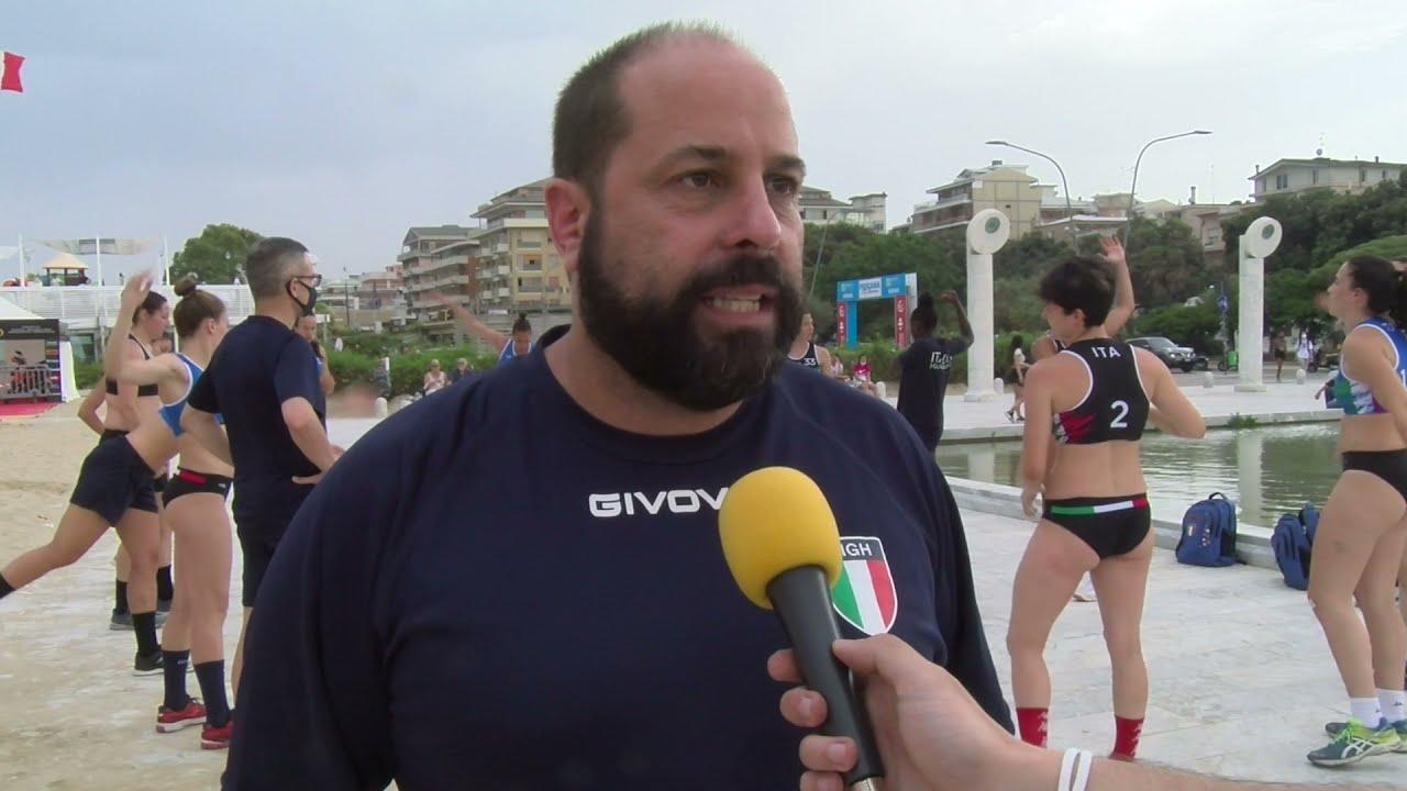 L'Italia del beach handball prepara gli Europei a Pescara
