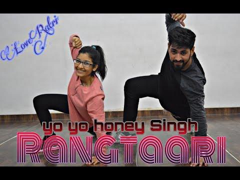Rangtaari Dance Video   Loveratri   Sunil Rao Choreography   Aayush Sharma   Yo Yo Honey Singh