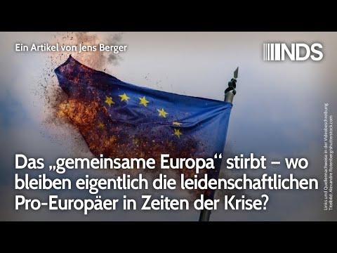 """Das """"gemeinsame Europa"""" stirbt – wo bleiben eigentlich die leidenschaftlichen Pro-Europäer jetzt?"""