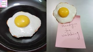 DIY Fridge Magnet / How to make Fridge Magnet / DIY Clay Egg
